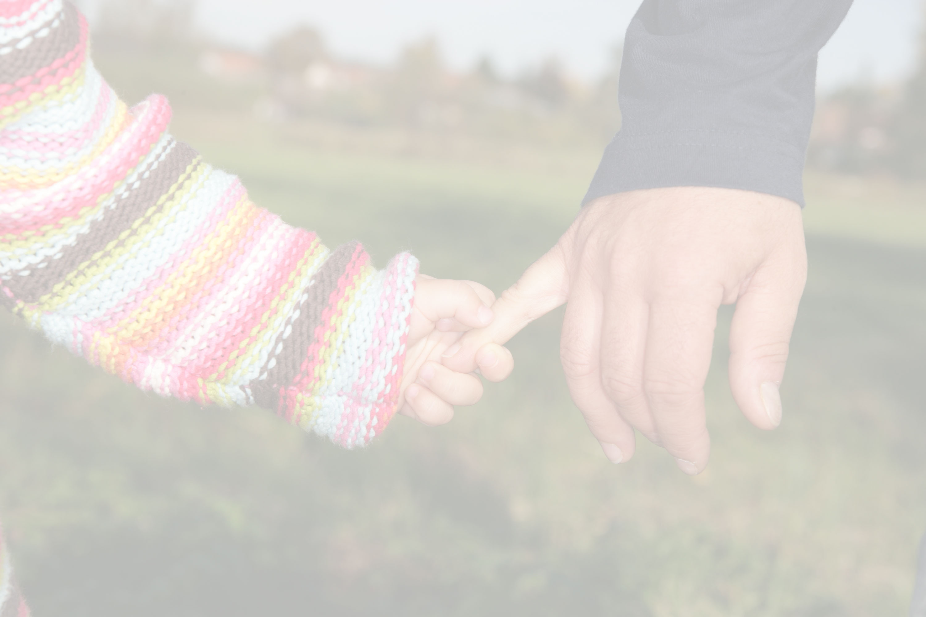 Holding Hand making a will